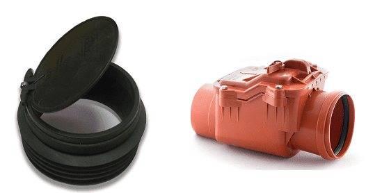 Установка обратного клапана на канализацию