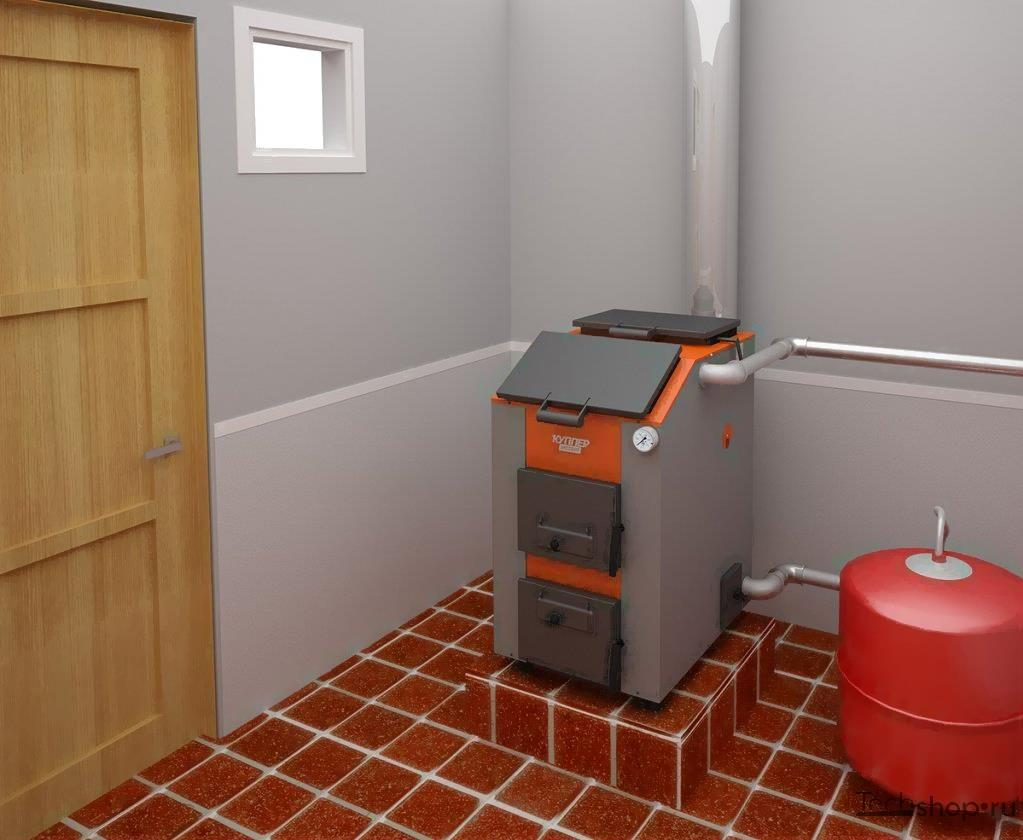 Котел для отопления дома комбинированный дрова-электричество