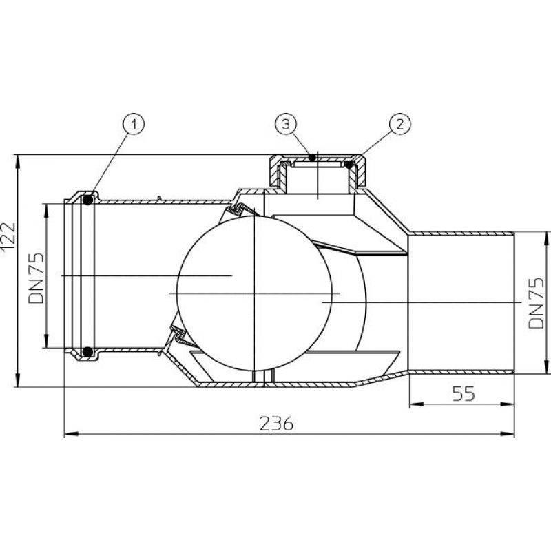 Как выбрать и установить обратный клапан на канализацию – характеристики, различия, принцип работы