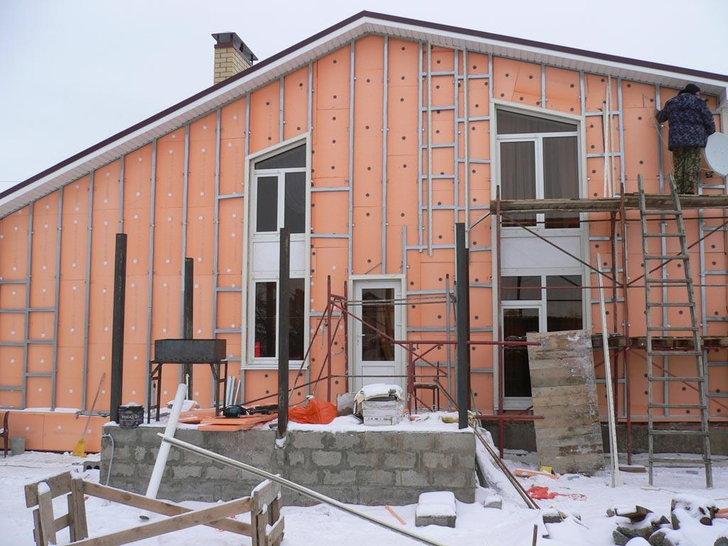 Как утеплить деревянный дом снаружи под сайдинг пеноплексом