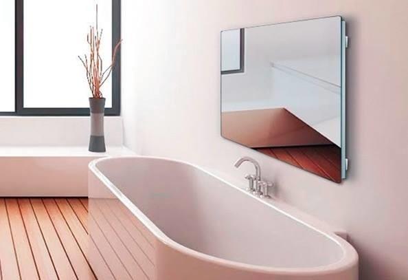Безопасный обогреватель для ванной комнаты и сауны