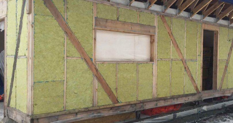 Схемы утепления каркасного дома минеральной ватой для пола, стен, потолка