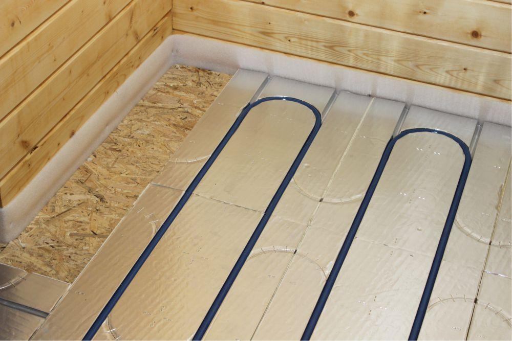 Как самостоятельно сделать цементно-песчаную стяжку под теплый пол
