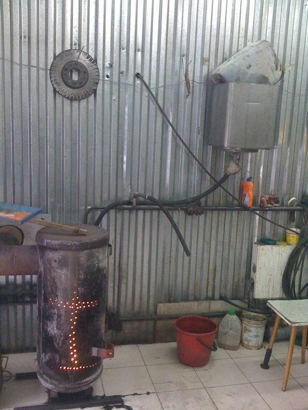 Печка для гаража на солярке: выбор, инструкция по изготовлению своими руками