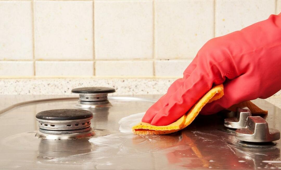 Как отмыть плитку от жира на кухне: видео