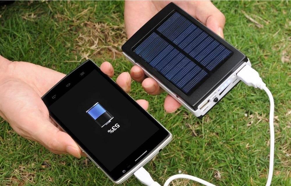 Солнечные зарядные устройства для смартфонов – топ 5