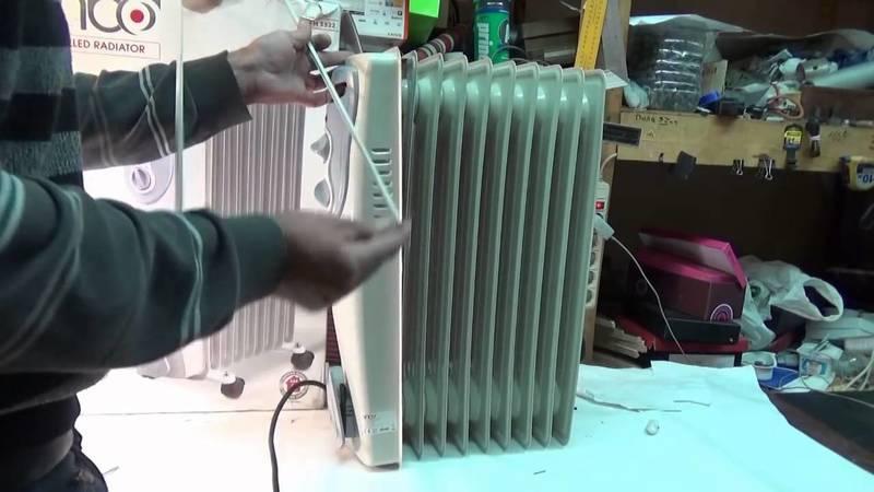 Устройство и ремонт керамических обогревателей