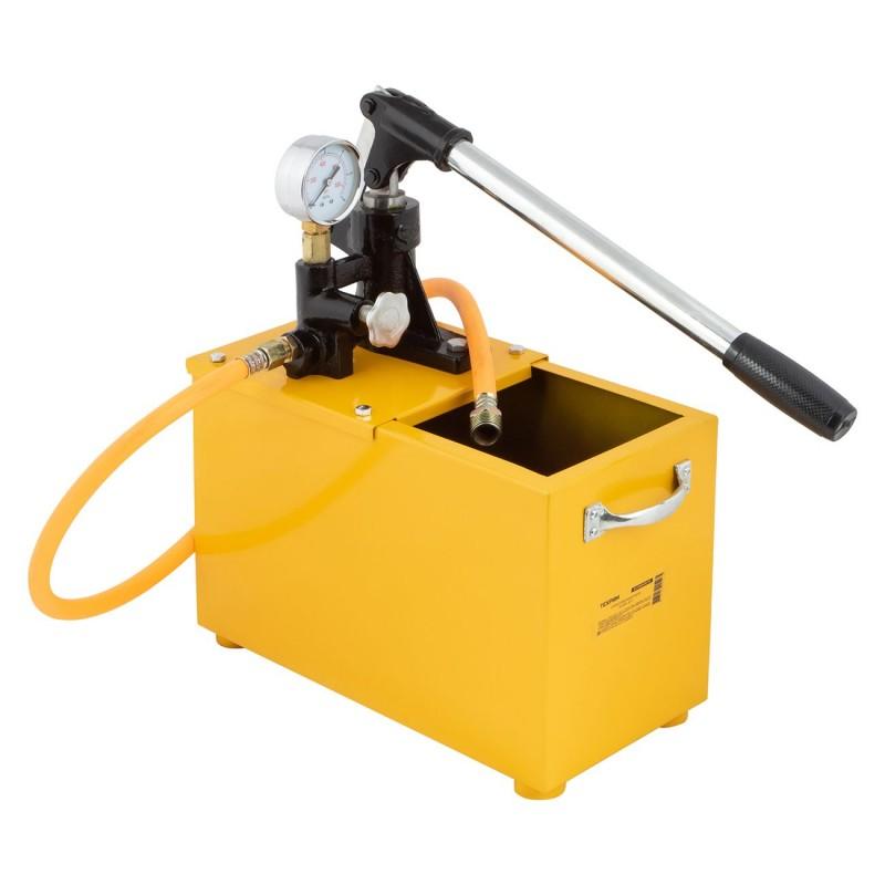 Насос для опрессовки системы отопления: ручной и электрический, особенности гидравлического и компрессионного типа, опрессовка своими руками