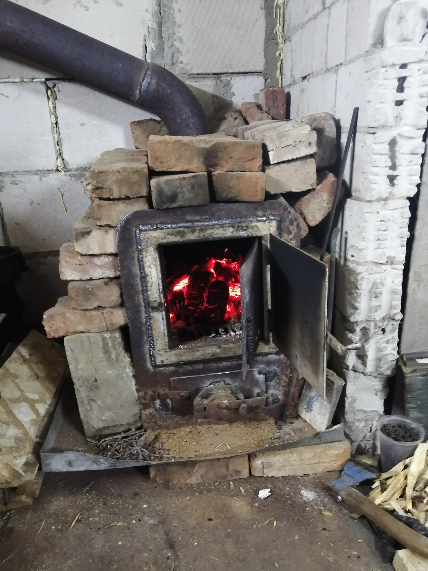 Буржуйки на дровах длительного горения своими руками