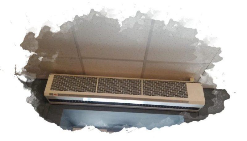 Тепловые завесы – основные виды, как выбрать, рейтинг лучших моделей, установка прибора
