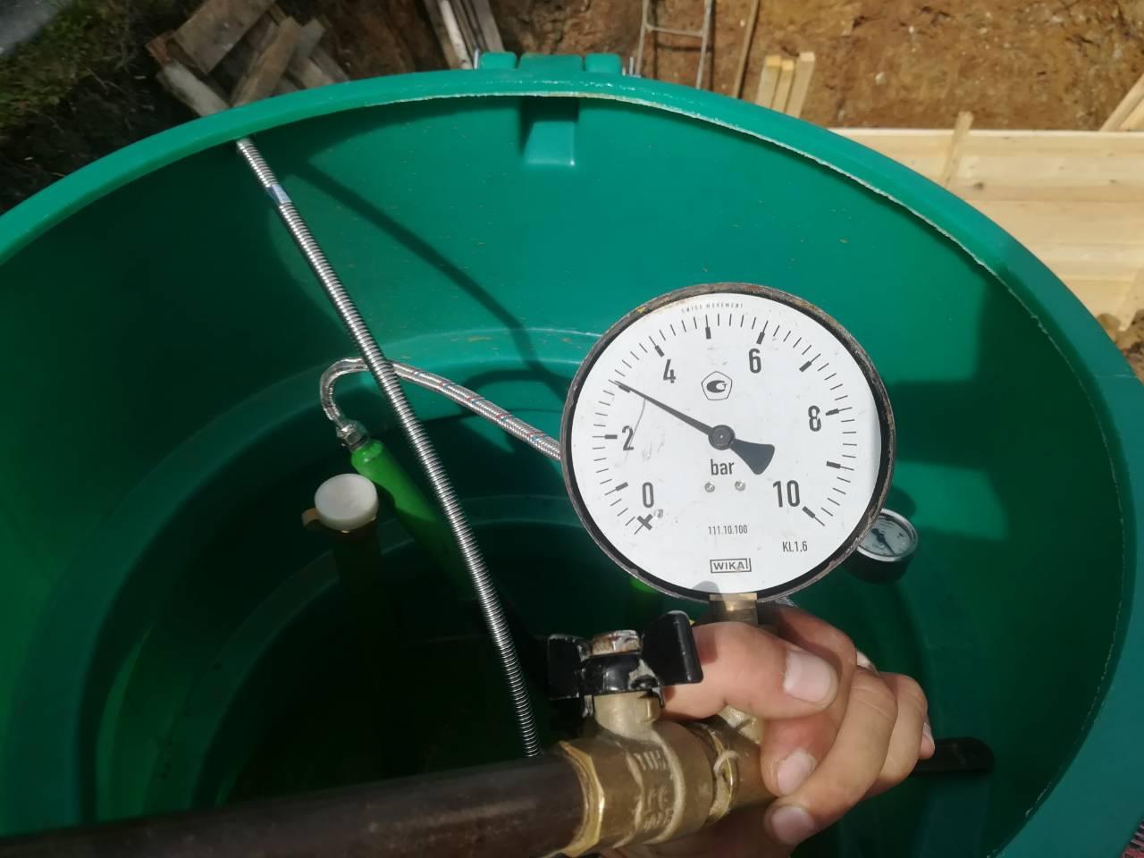 Заправка газгольдеров сжиженным углеродистым газом