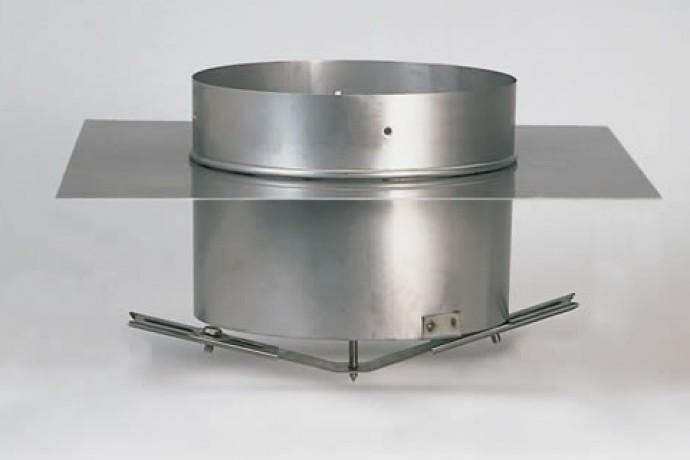 Правила установки шибера для дымохода