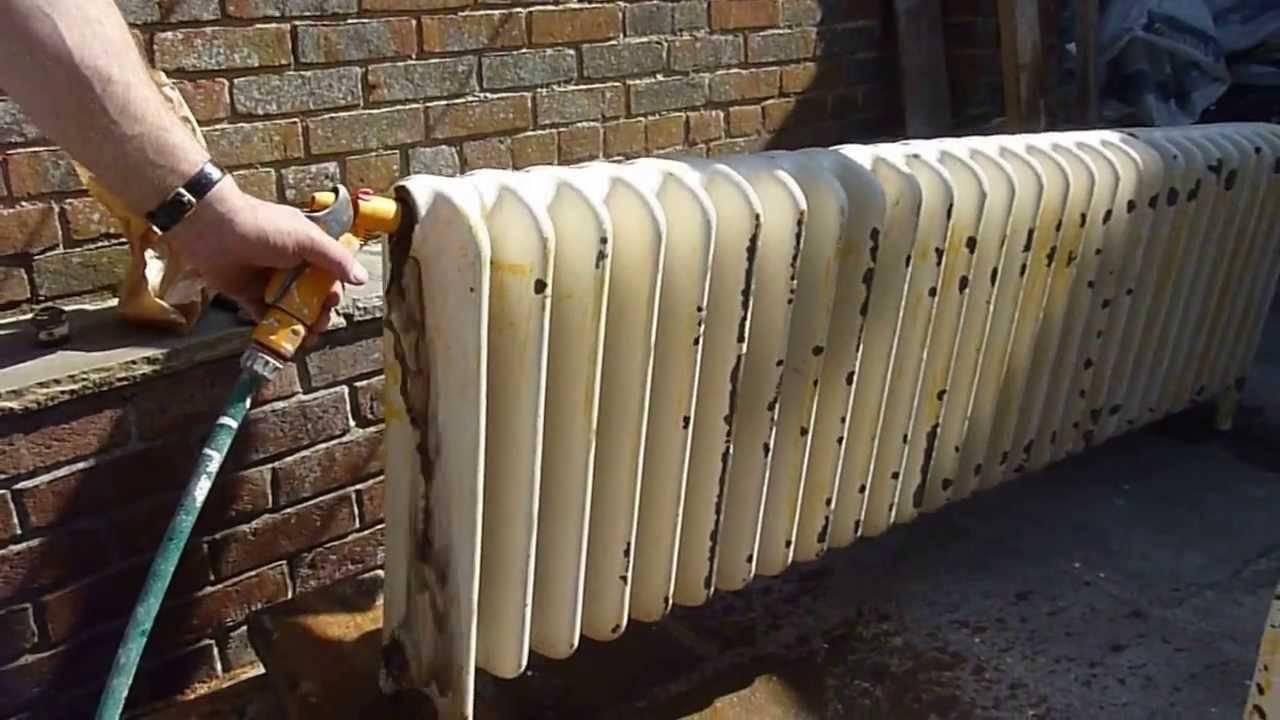 Как и чем промыть радиаторы отопления в квартире    дом гвоздем