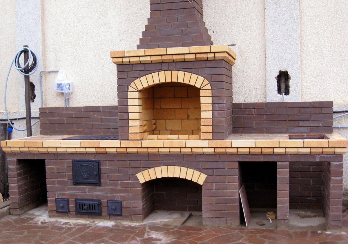 Проекты летних кухонь с барбекю и мангалами на дачных участках