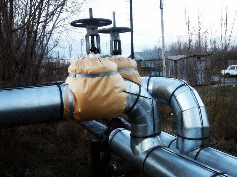 Изоляция трубопроводов отопления - как изолировать трубы (+фото)