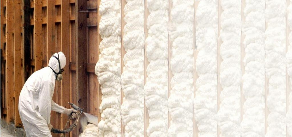 Утепление стен снаружи пенополиуретаном — теплоизоляция стен ппу