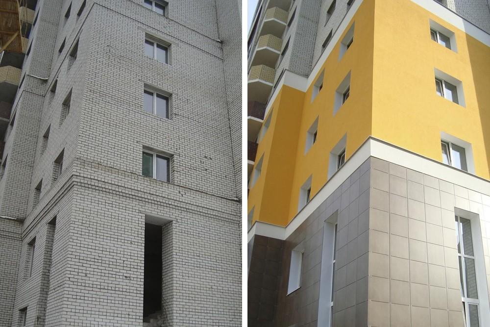 Утепление стен панельного дома снаружи своими руками