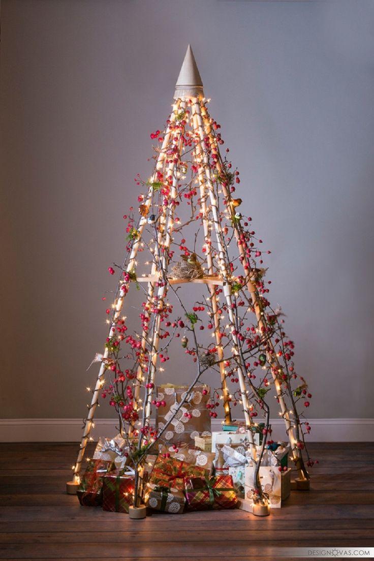 Как сделать новогоднюю елку своими руками из подручных материалов в домашних условиях: из чего делают поделки в виде елок / mama66.ru