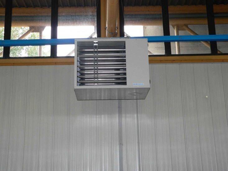 Теплогенераторы для воздушного отопления: газовый воздухонагреватель, агрегаты и печи