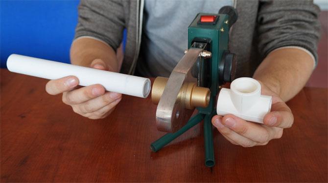 Технология пайки и сварки полипропиленовых труб в неудобных местах