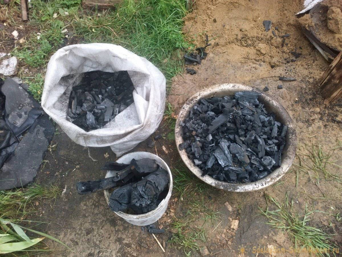 Древесный уголь: технология производства, приготовление в домашних условиях своими руками в яме или бочке