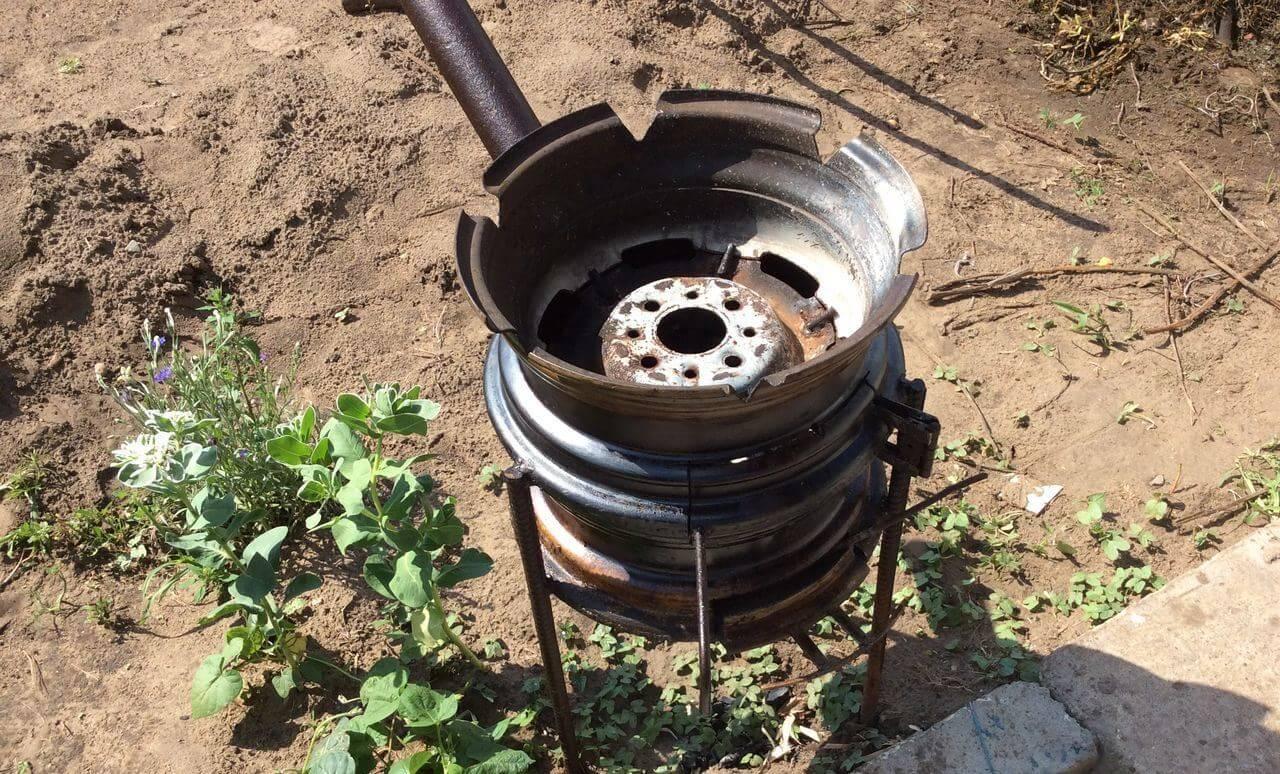 Самодельные печи для бани (50 фото): чертежи печки из металла и колесных дисков, металлические печи-самоделки
