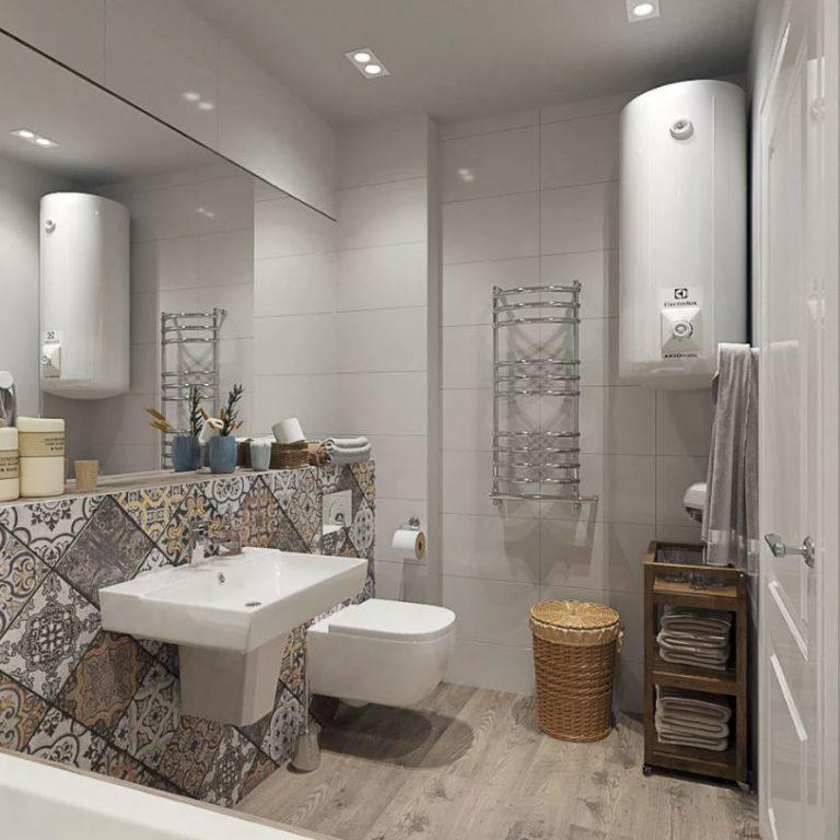 Ванная в скандинавском стиле: дизайн интерьера, как выбрать плитку, мебель, как подобрать декор, как оформить маленькую комнату 3-4 кв. м, фото готовых решений