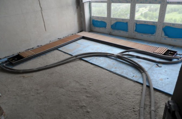 Можно ли полипропиленовые трубы заливать бетоном? какие условия для этого необходимы