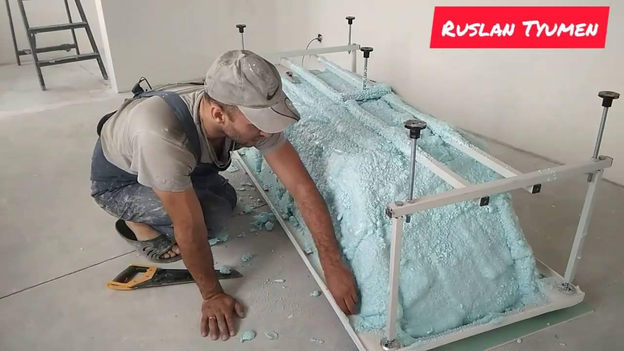 Как утеплить стену в ванной выбор материала и способы монтажа теплоизоляции