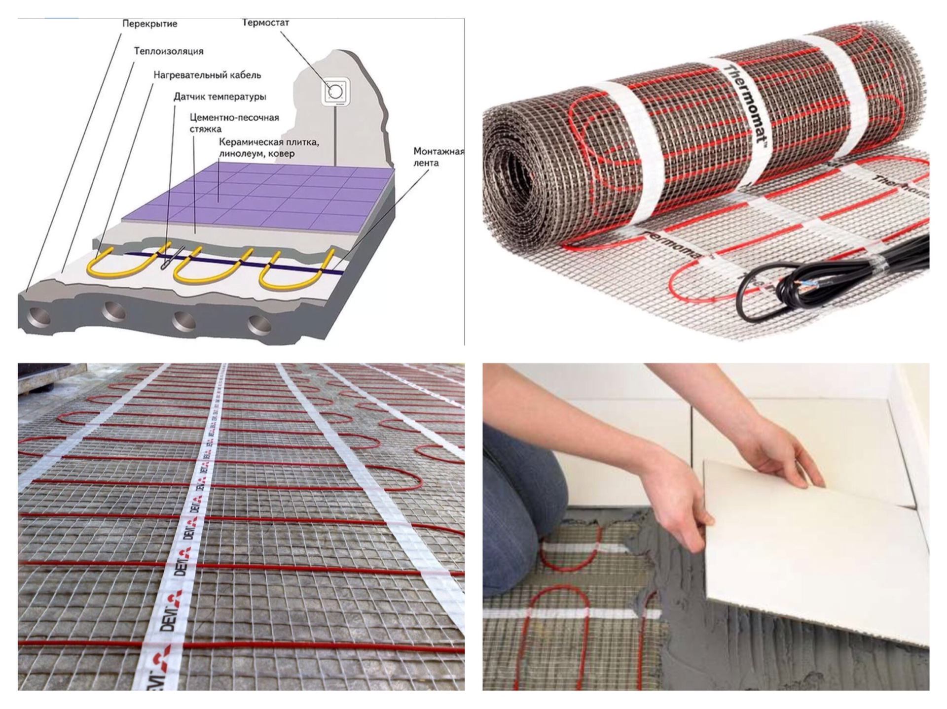 Как сделать пленочный тёплый пол под линолеум: инструкция по укладке инфракрасной системы обогрева