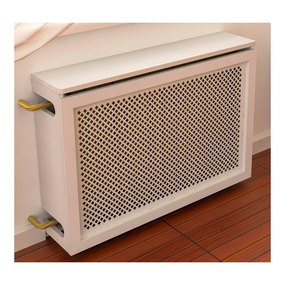 Экран для батареи отопления, его монтаж своими руками, как сделать декоративный щиток на радиатор