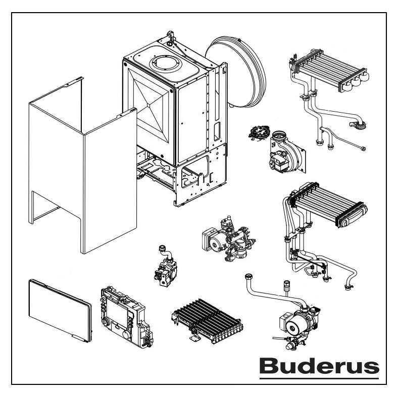 Технические характеристики немецких котлов buderus