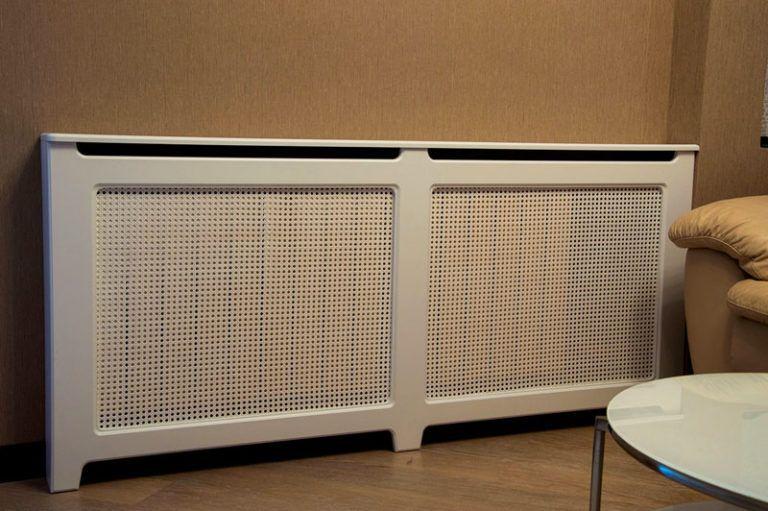 Экран для радиатора отопления: изготовление защиты на батареи, размеры навесного экрана на конвектор
