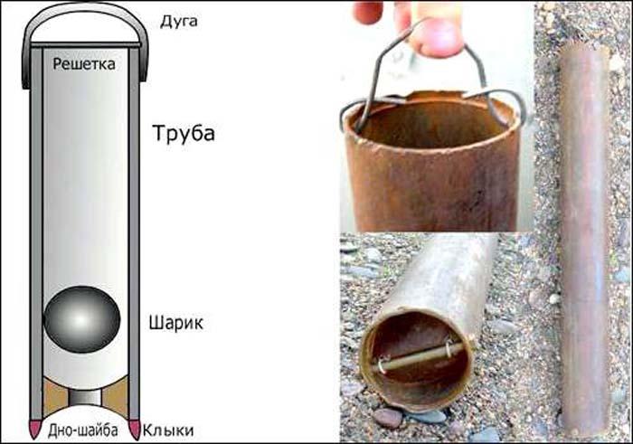 Желонка (31 фото): продукты для чистки скважины своими руками, как сделать чертеж варианта для бурения на воду