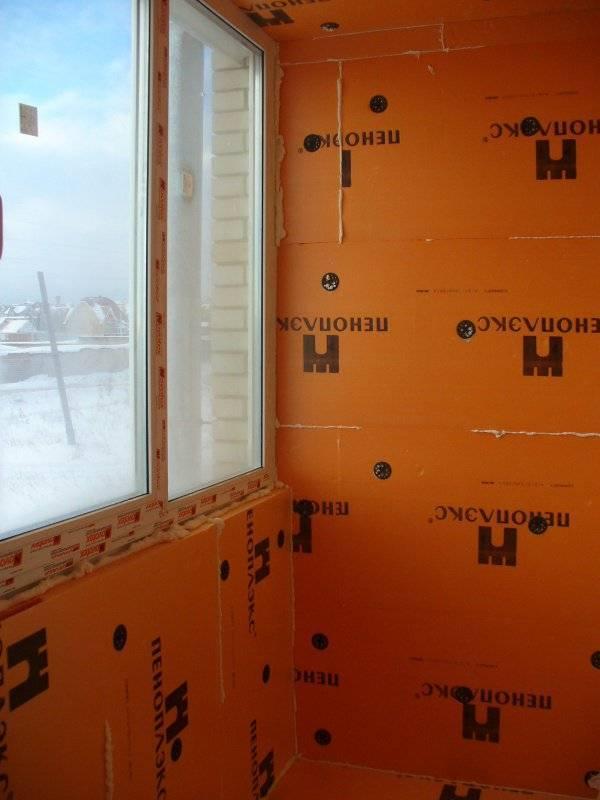 Как утеплить дом пенопластом (пеноплексом) своими руками