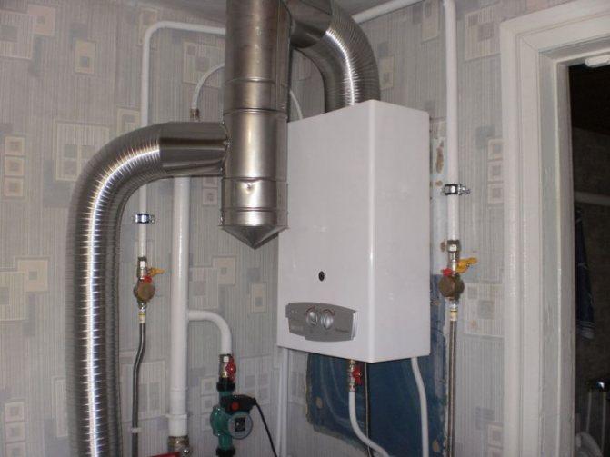 Правила установки газовой колонки в квартире и частном доме