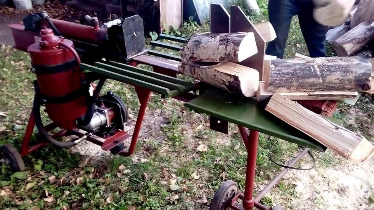 Как правильно колоть дрова: чем и где