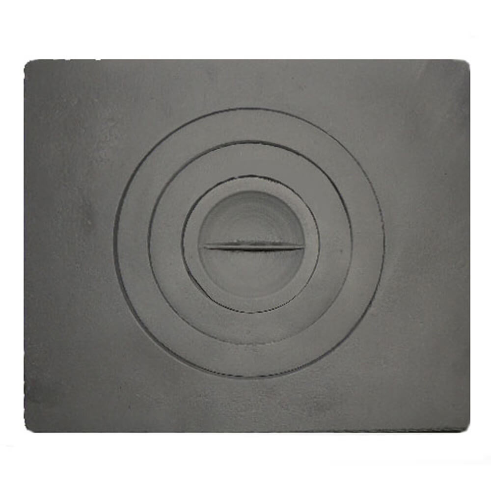 Чугунная плита для печи- тонкости выбора и установки варочного настила
