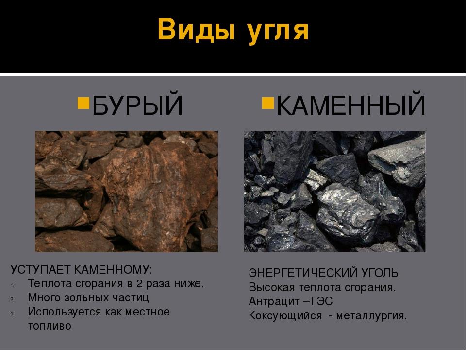 Из чего состоит уголь? какова химическая формула угля