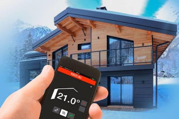 Отопление системы умный дом