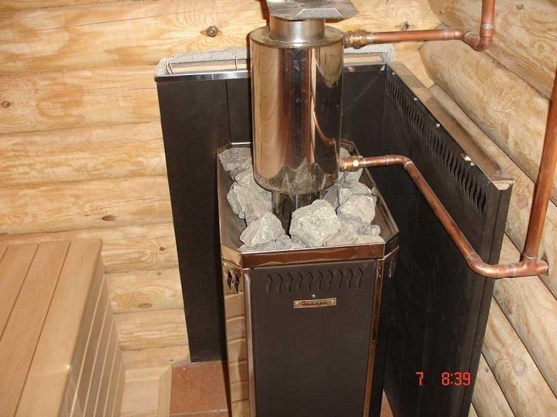 Теплообменники для печей в бане: змеевик, водяная рубашка и другие