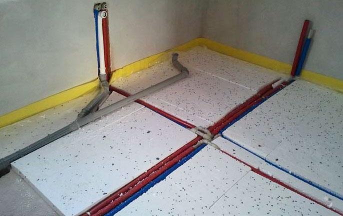 Выбираем лучший утеплитель пола под бетонную стяжку