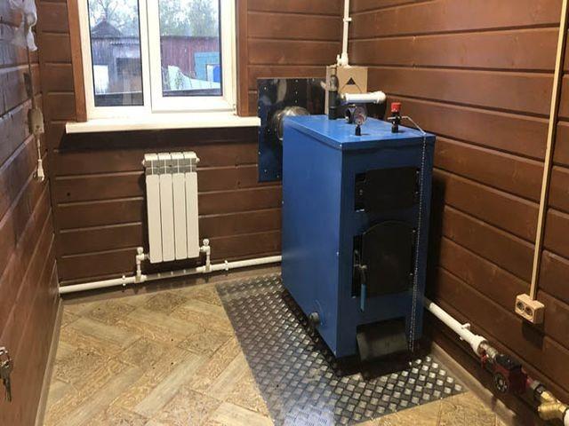 Схема подключения твердотопливного котла отопления для частного дома