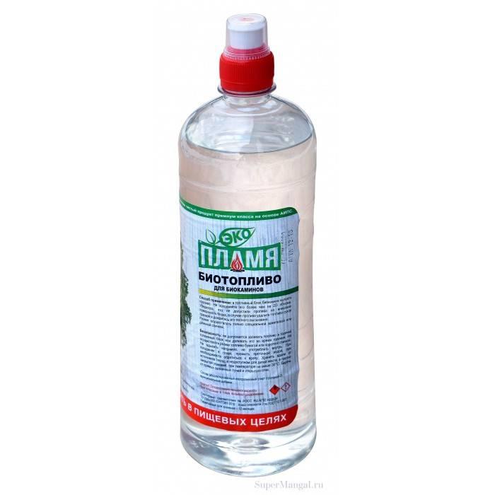 Топливо для биокамина — особенности, виды, производители