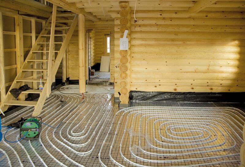Как сделать теплый пол в деревянном доме – примеры реализации своими руками