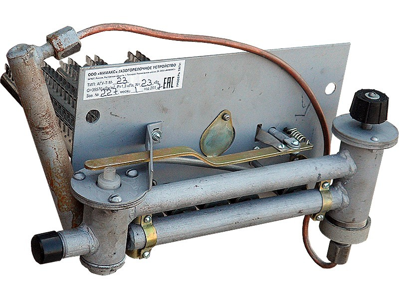 Горелки газовые для котлов: конструктивные особенности и принцип работы