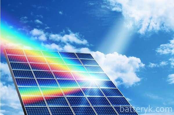 Работа в пасмурную погоду солнечных батарей и ночью
