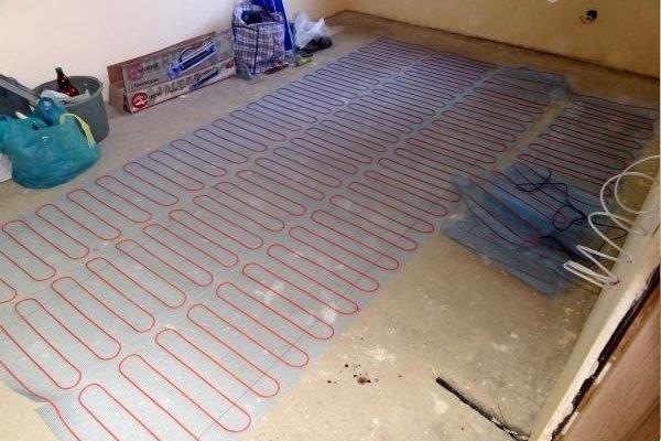 Укладка плитки на теплый пол: подробная инструкция