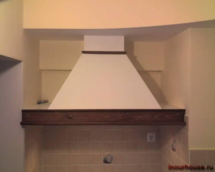Алгоритм установки вытяжки на кухне