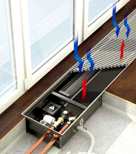 Как выбрать и установить внутрипольный конвектор отопления водяной: основные рекомендации и правила